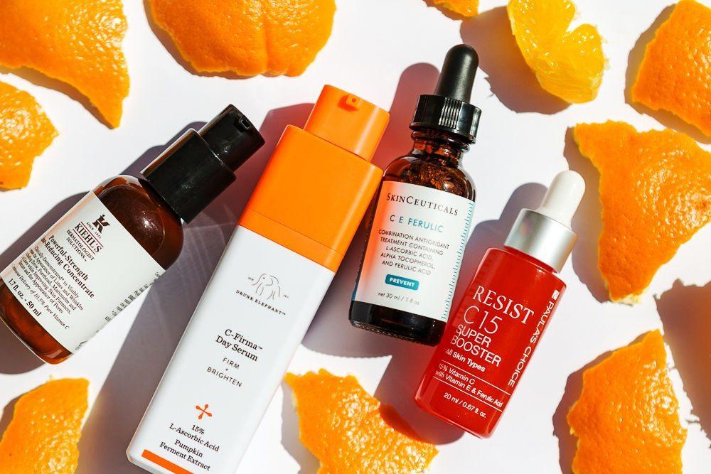 serum dưỡng da mặt có vitamin C