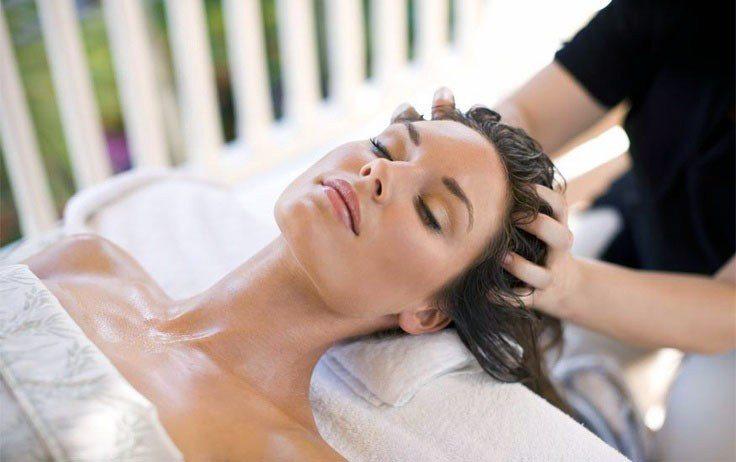 massage da đầu