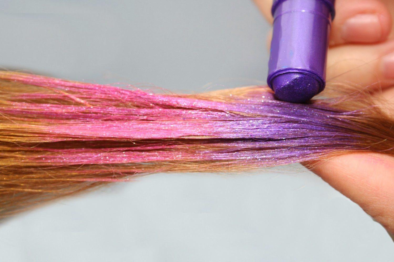 màu phấn nhuộm tóc