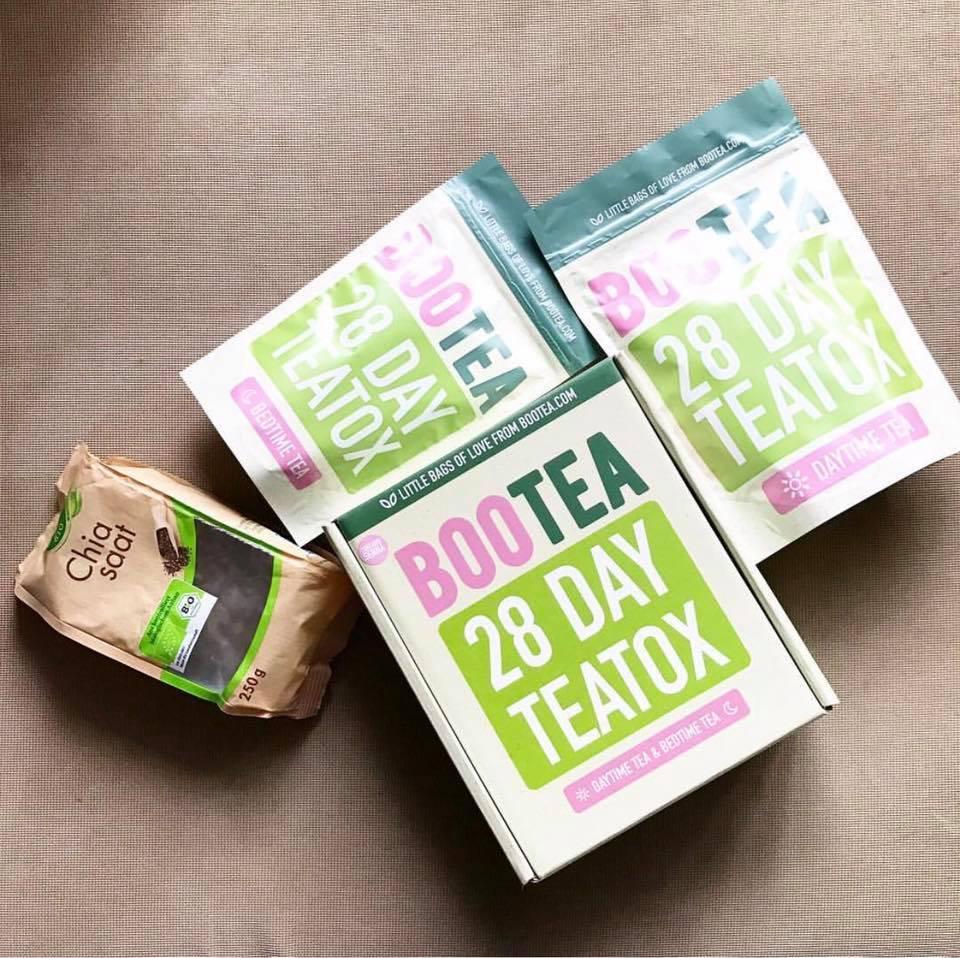 trà thải độc bootea 28 ngày