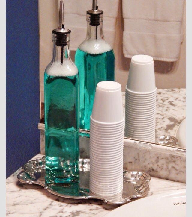 cách trị gàu bằng nước súc miệng