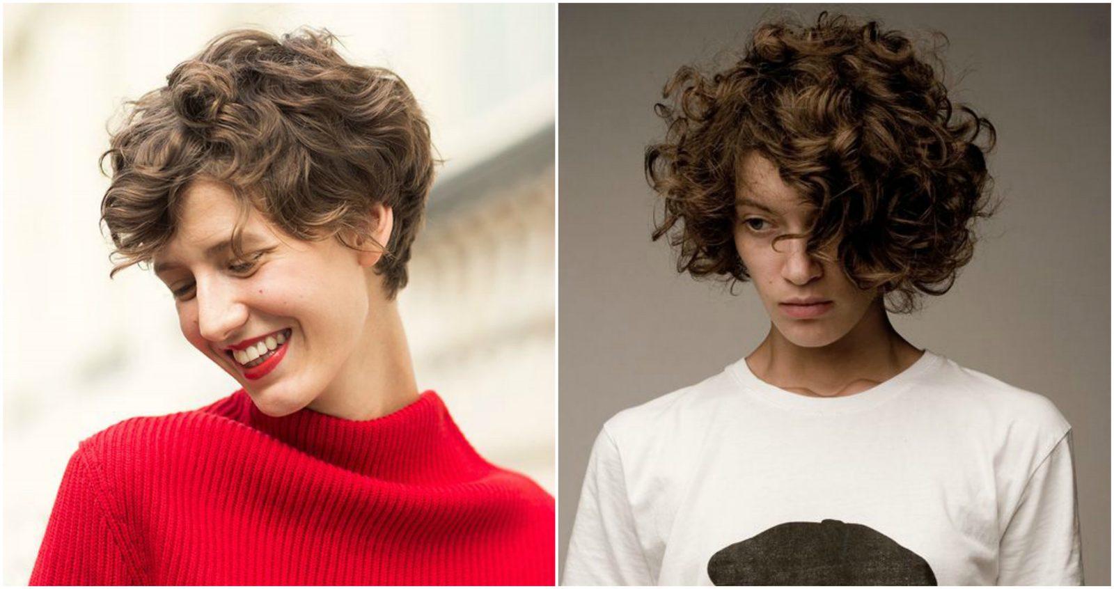 tóc xoăn lọn to ngắn