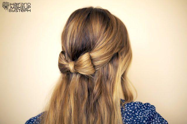 tóc thắt nơ