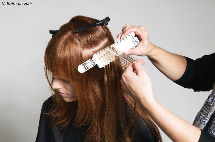 nối tóc tại nhà