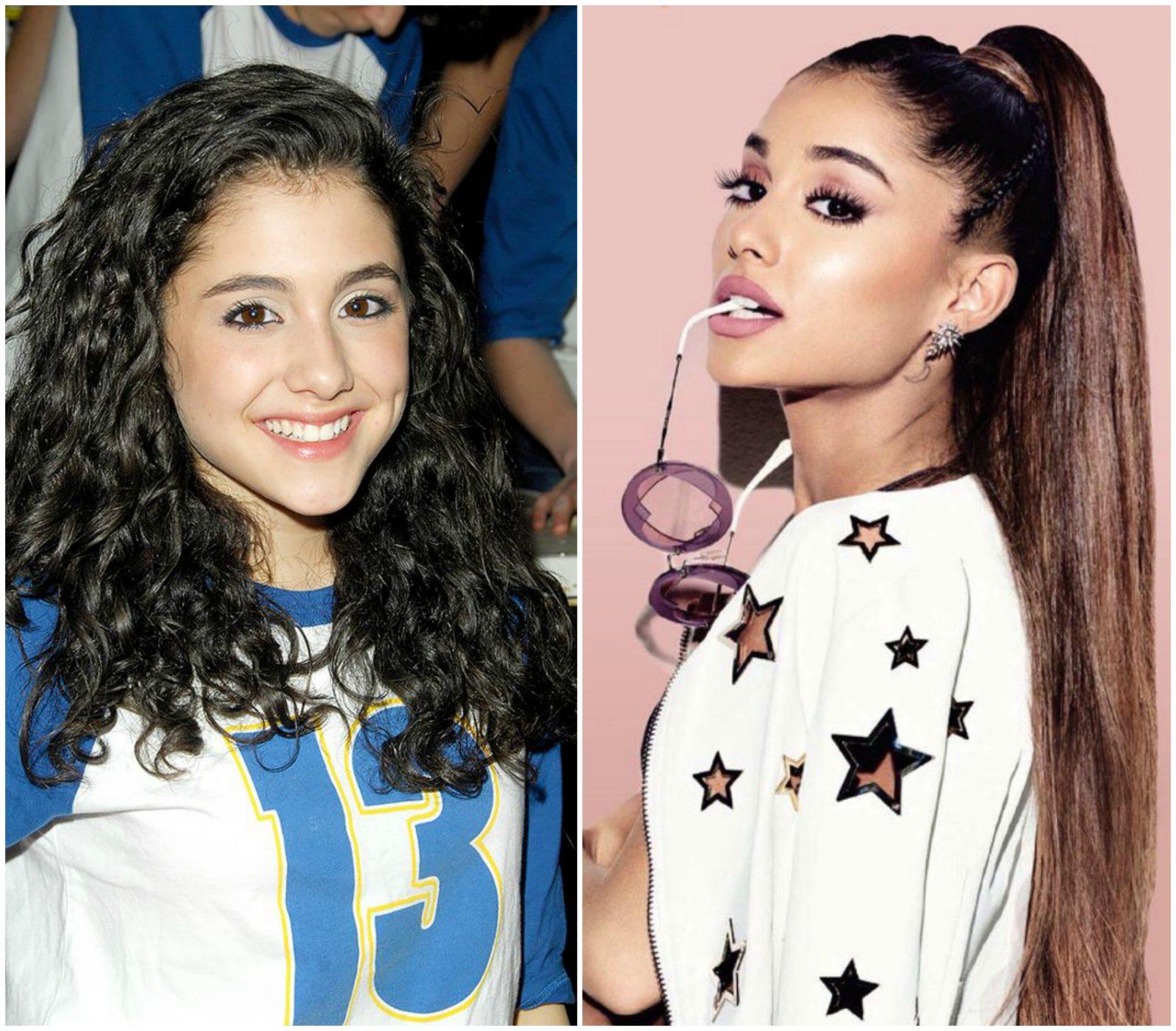 """Hành trình """"lột xác"""" của nữ ca sĩ Ariana Grande"""