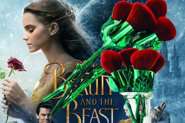 bộ cọ trang điểm Beauty and the Beast