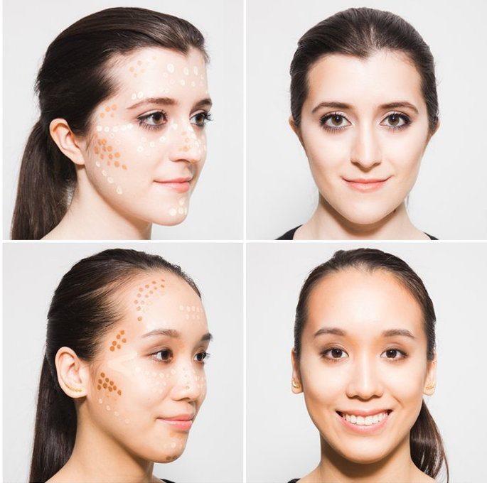 Học các beauty guru hàng đầu thế giới cách đánh khối cho gương mặt thon gọn