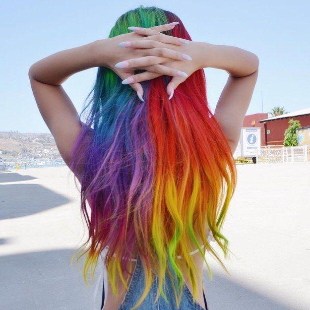 Bạn có dám nhuộm 34 màu trên tóc của mình?
