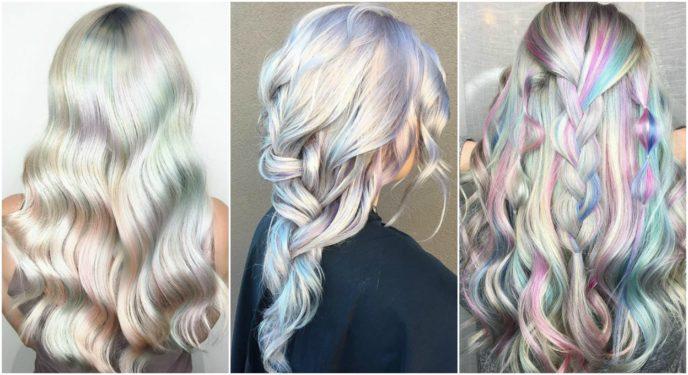màu nhuộm tóc pastel