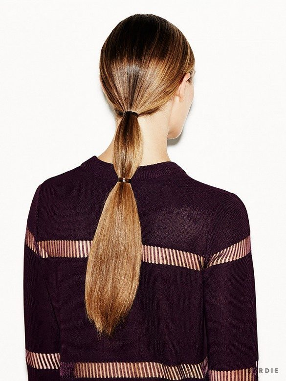 kiểu tóc đẹp đơn giản