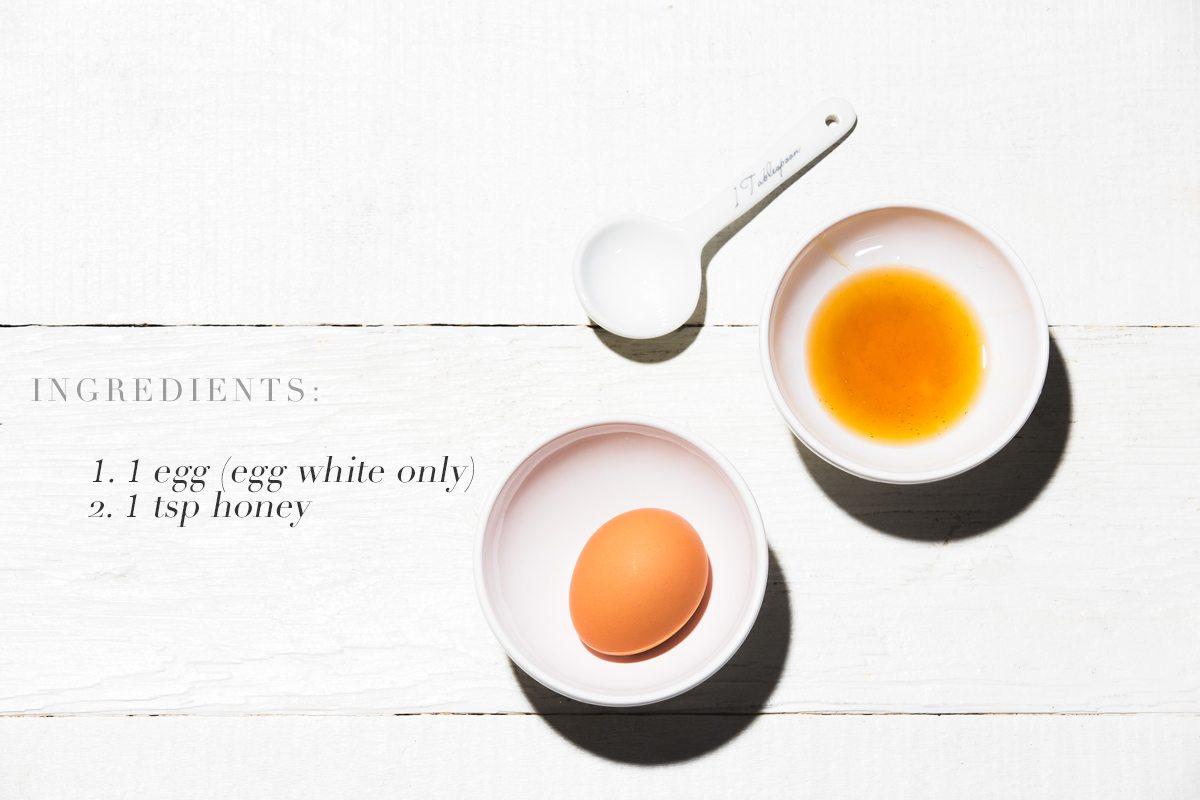 trị mụn lưng bằng trứng