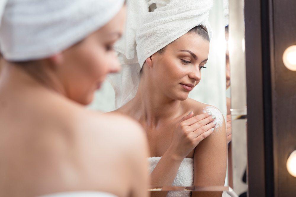 Dưỡng da là một cách chăm sóc toàn thân