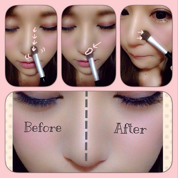 cách tạo khối mũi