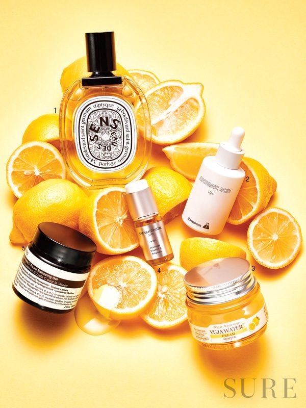 Vitamin C còn giúp sáng da và chống oxy hoá, kháng viêm