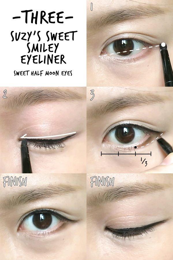 hướng dẫn từng bước kẻ mắt đơn giản