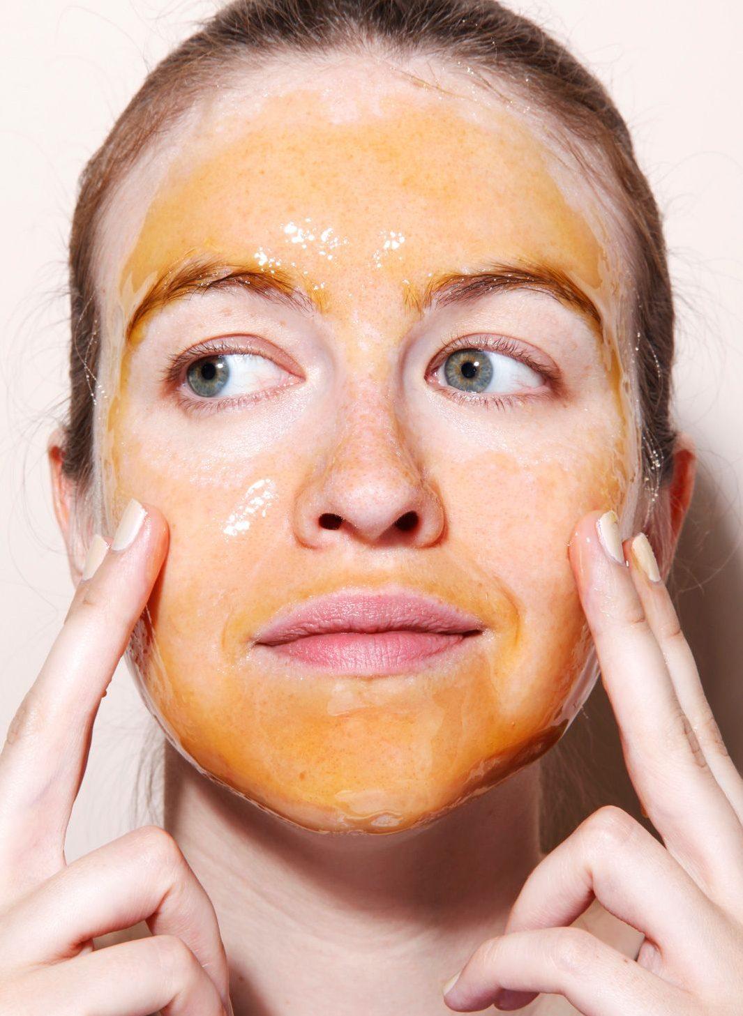 dưỡng da mặt với mật ong