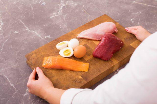 Thịt và mỡ của chế độ ăn Low Carb