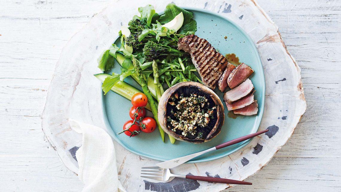 bữa ăn của chế độ ăn low carb
