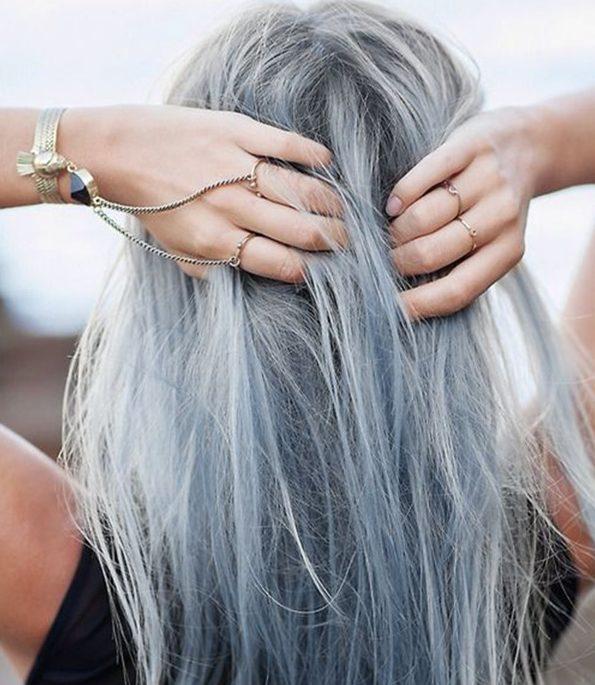 màu khói cá tính - màu tóc đẹp 2019