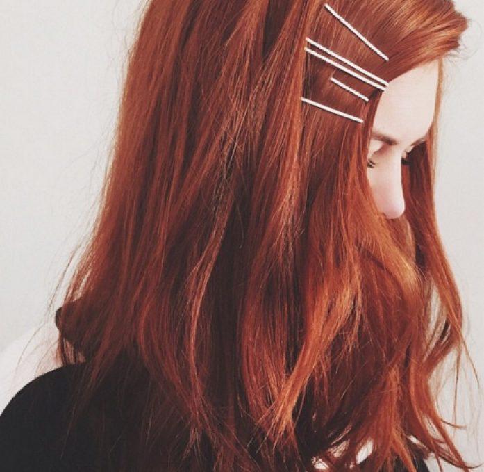 tóc nhuộm nâu quế
