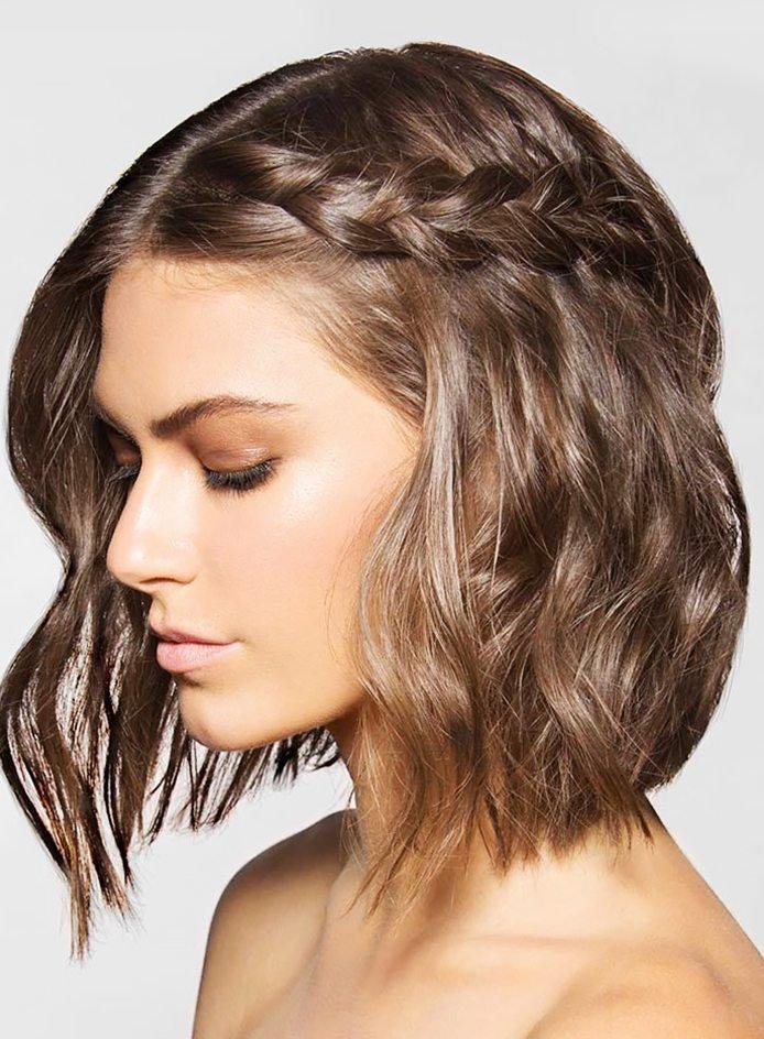 Bím tóc cho tóc ngắn