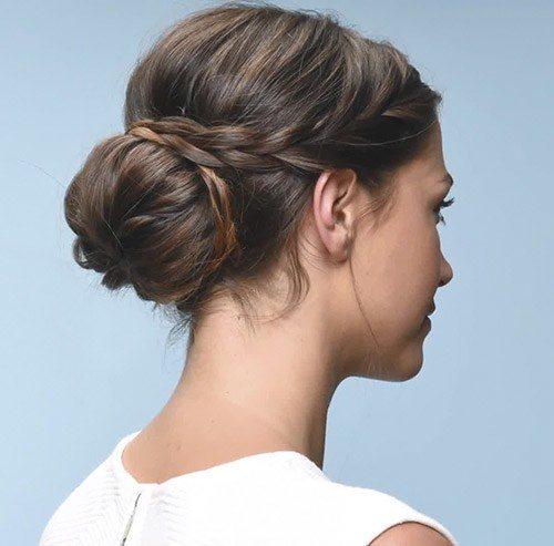 Kiểu tết tóc búi tròn