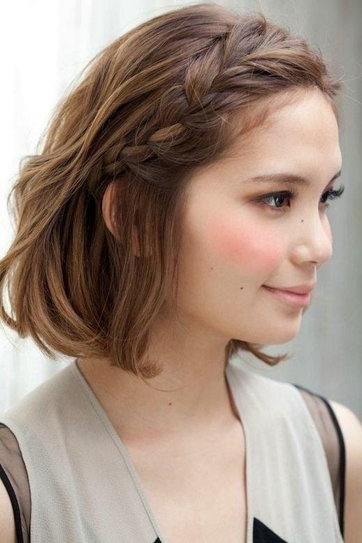 cách tết tóc mái cực đơn giản