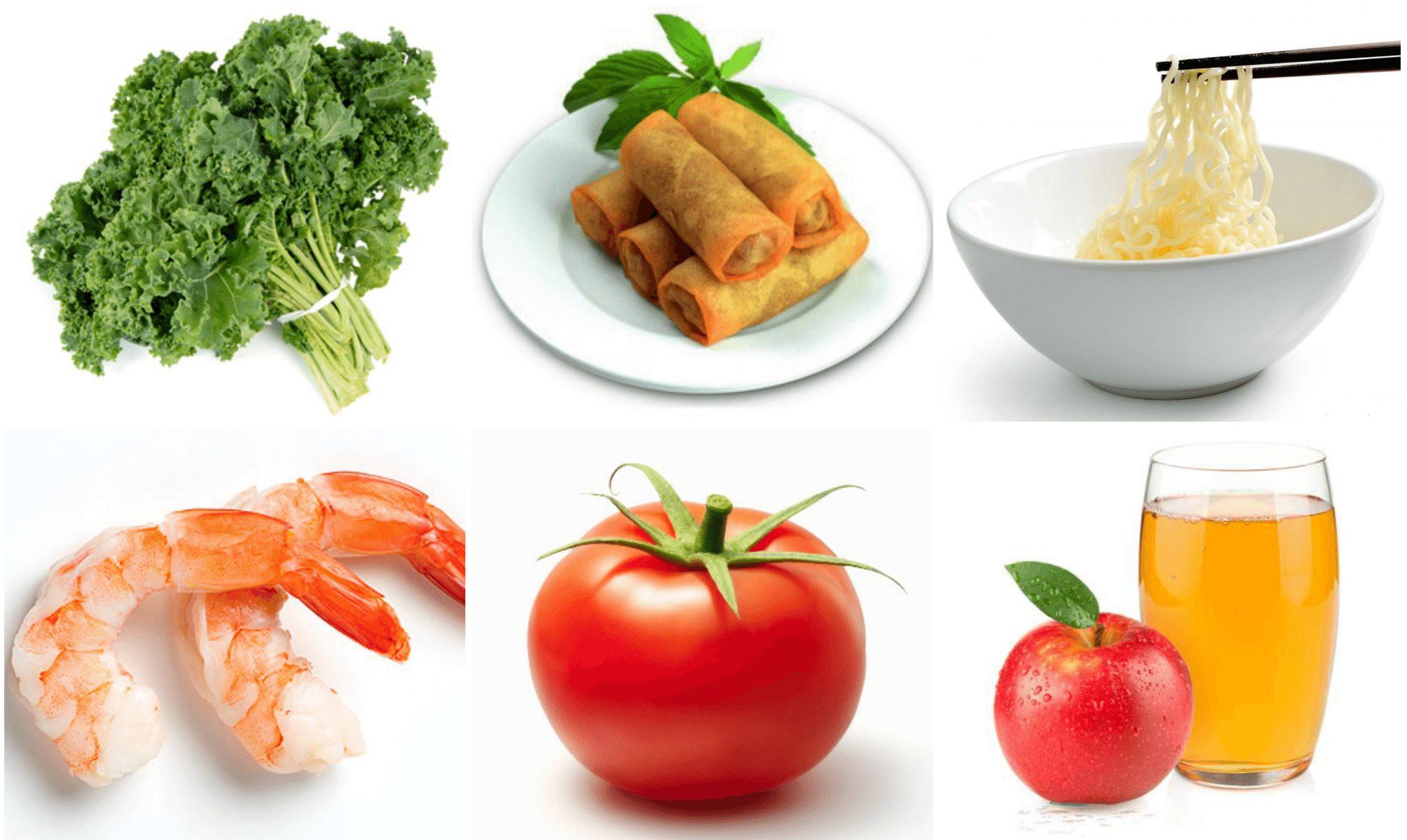 chế độ ăn asian diet trưa
