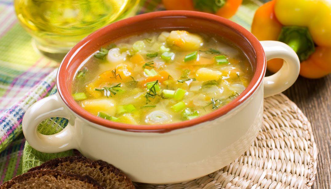 ăn súp giảm cân