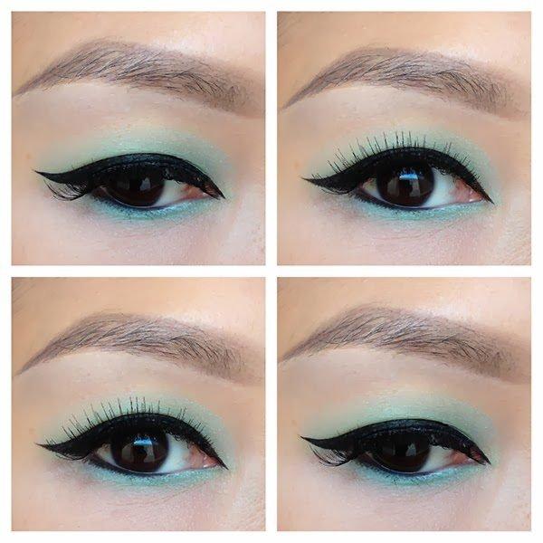 Cách vẽ eyeliner lên mắt