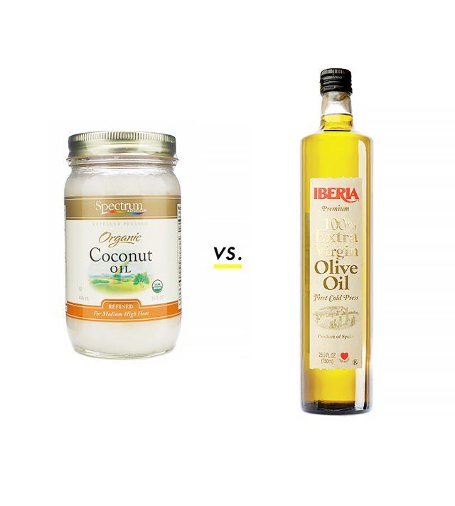 trắng da tay với dầu dừa, dầu oliu