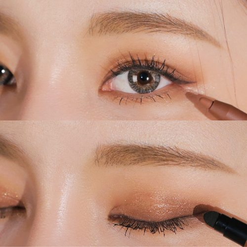 cách Vẽ eyeliner bằng chì