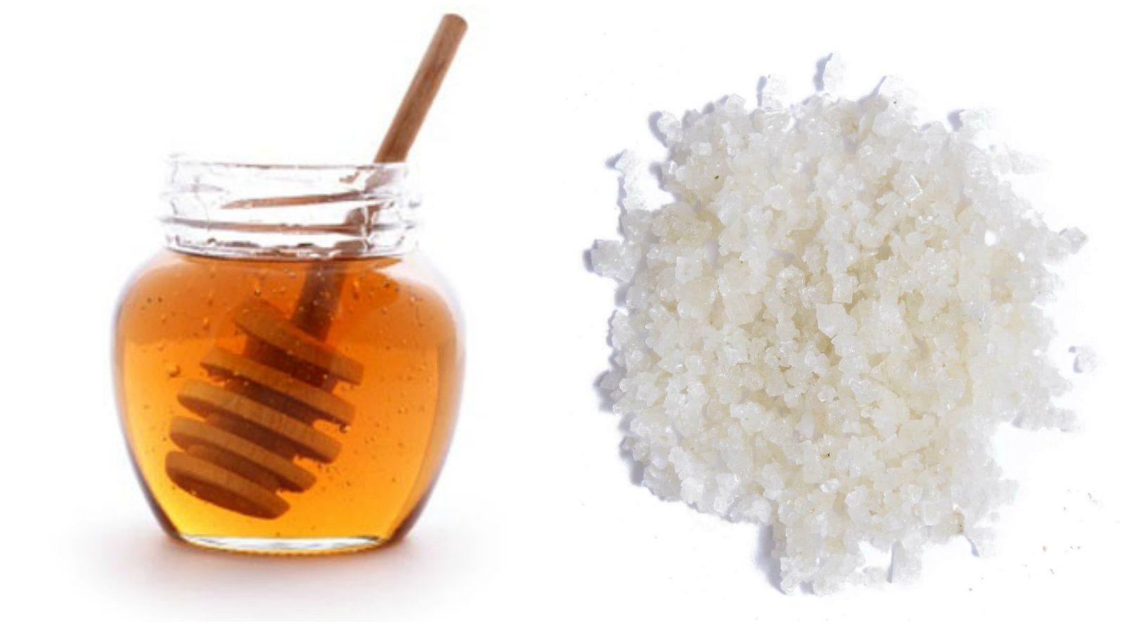 Cách Làm Trắng Da Tay từ muối và mật ong