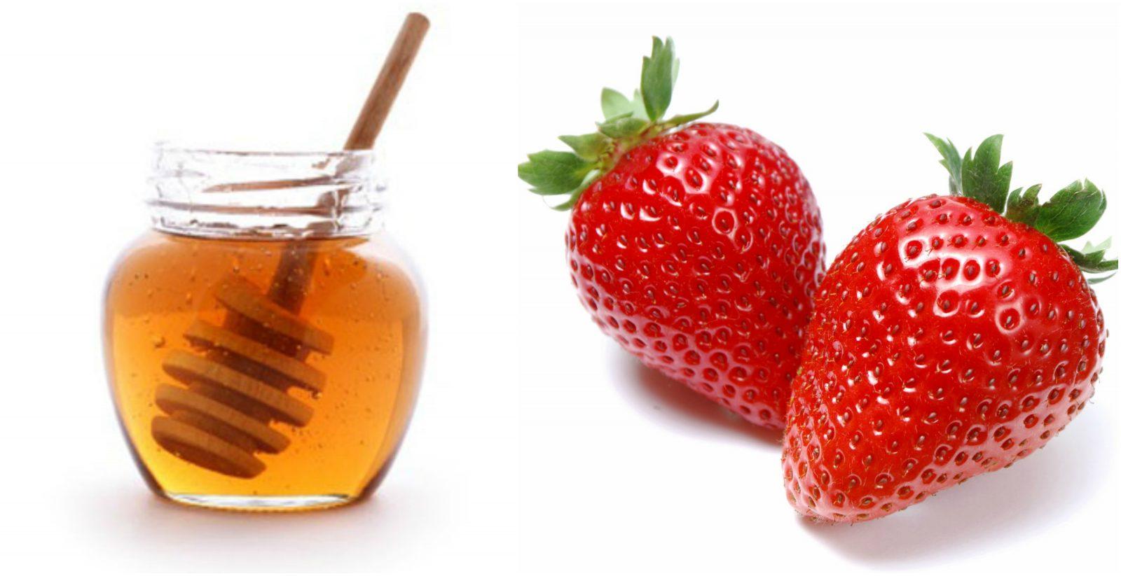 Mật ong và dâu là hỗn hợp dành riêng cho da khô