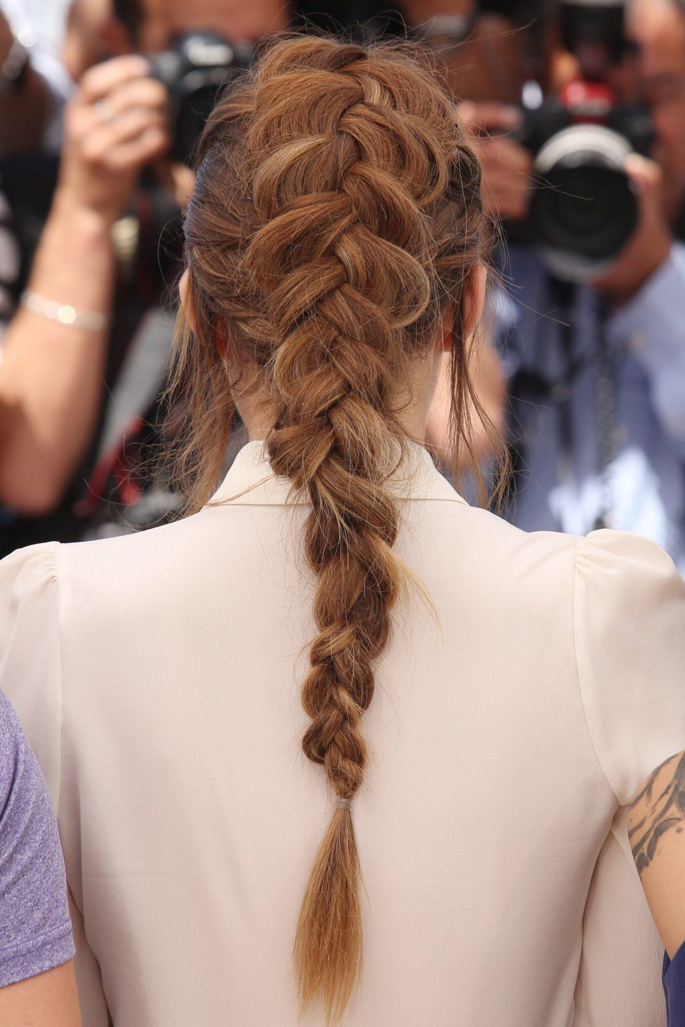 kiểu tết tóc đuôi tôm