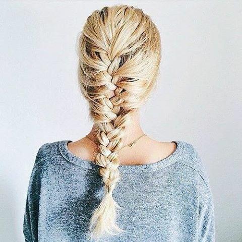 tóc đuôi tôm đẹp, tự nhiên