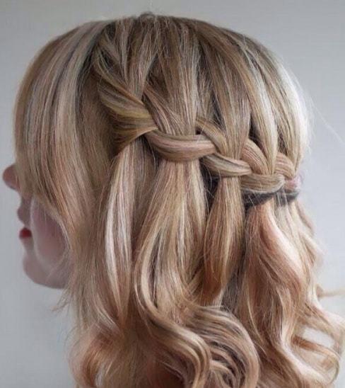 kiểu tết tóc đi học