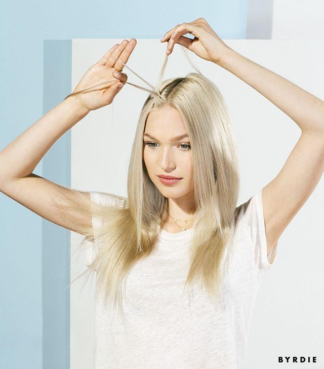 các kiểu tết tóc mái