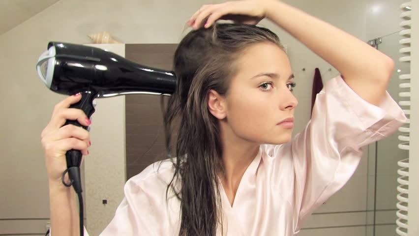 cách sấy tóc xoăn