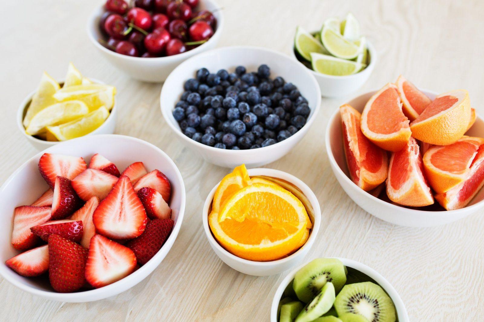 Trái cây chứa rất nhiều Vitamin E