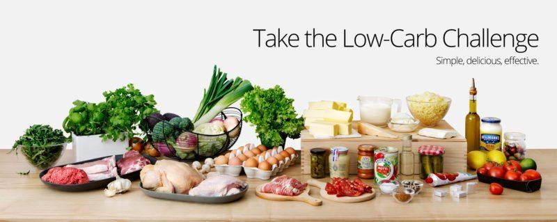 chế độ giảm cân low carb