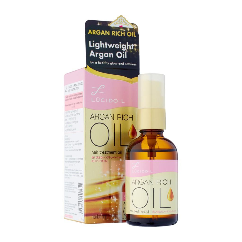 Tinh dầu dưỡng tóc (thuốc dưỡng tóc) Lucido – L Argan Rich Oil