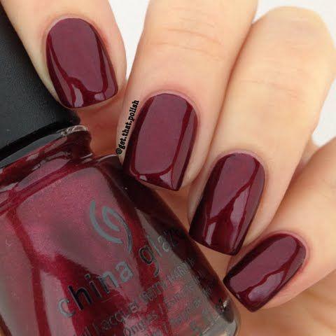 màu móng tay xanh đỏ rượu đẹp