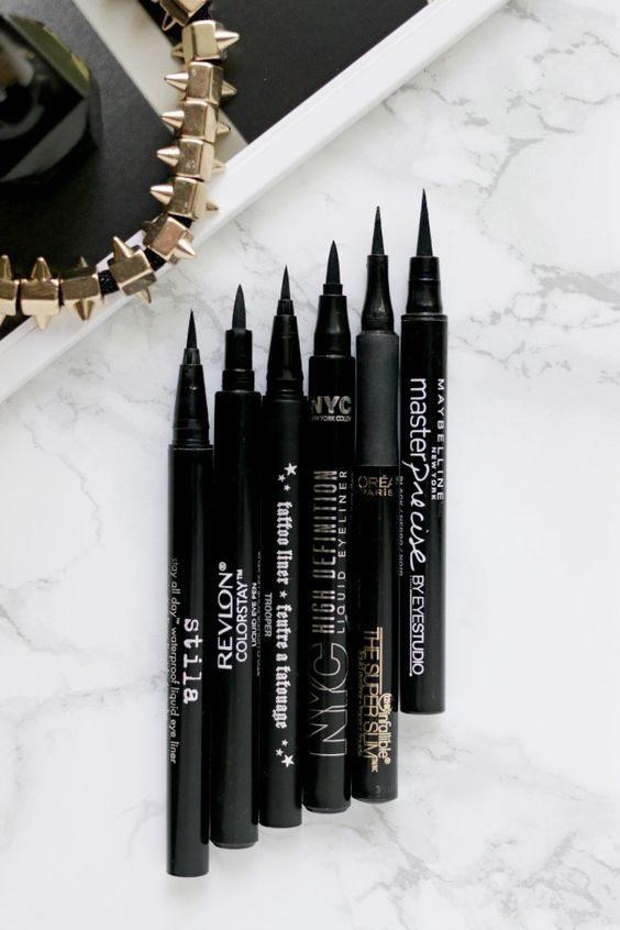 bút eyeliner dạng bút lông