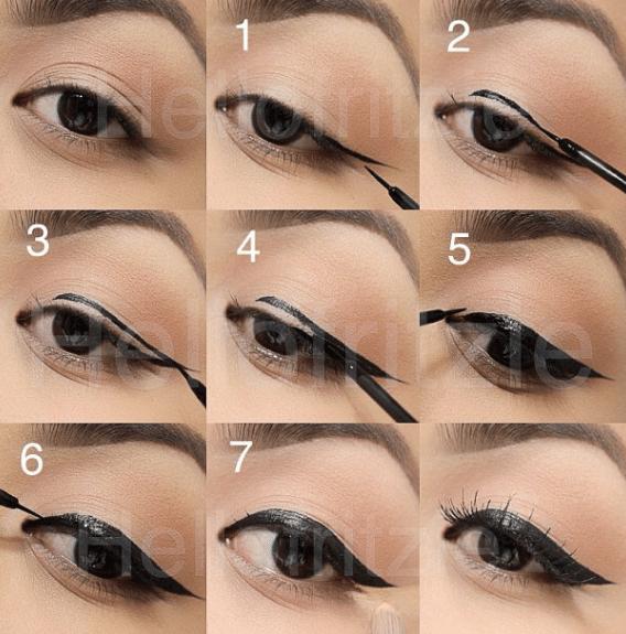 cách kẻ eyeliner cho người mới