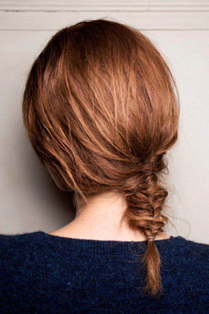 buộc xương cá là kiểu buộc tóc đẹp