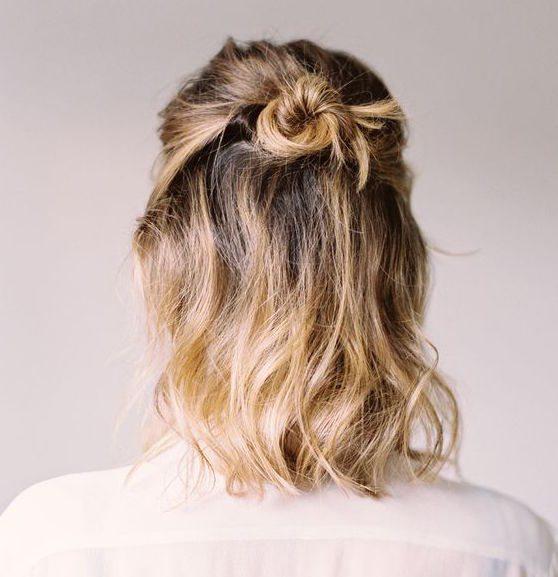 Chọn kiểu tóc búi phù hợp