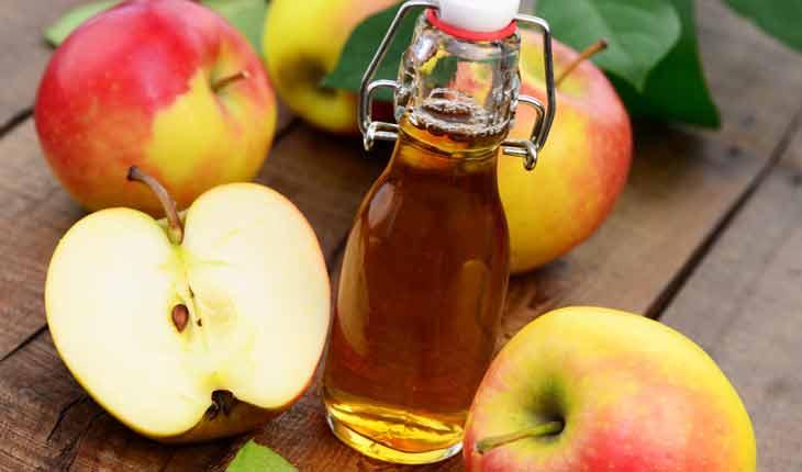 dấm táo dưỡng ẩm cho da nhờn