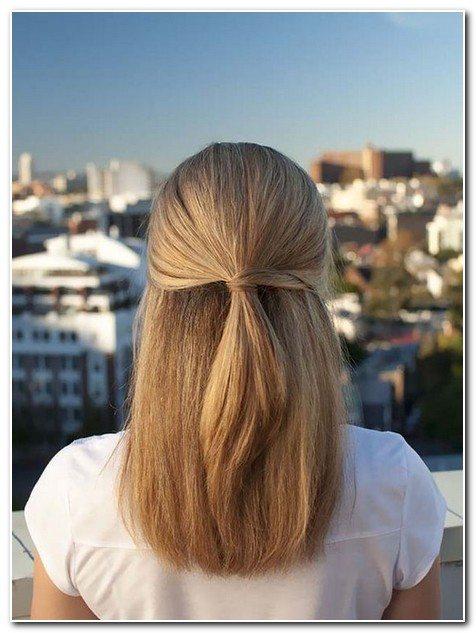 tóc buộc cao nửa đầu