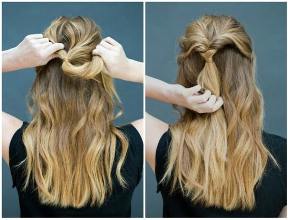 cách thực hiện kiểu tóc dự tiệc dễ làm